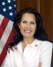 "Rep. Michelle Bachmann (R-MN) wants Americans to be ""armed and dangerous"" against the global warming bill, and to go to Washington to ""see the whites of the eyes"" of their Congressmen to fight the healthcare bill"