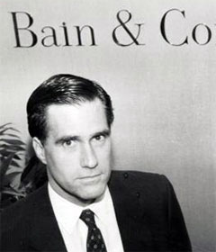 Mitt Romney at Bain