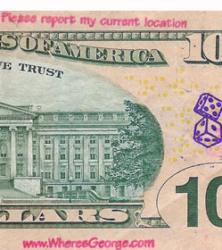 Currency defaced