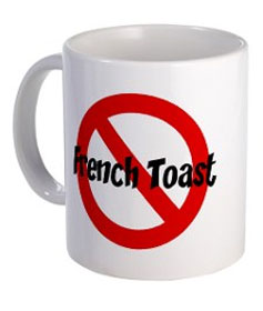 No French toast