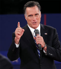 Romney in debate