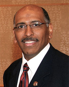 RNC Chairman Michael Steele compared Harry Reid's Obama remarks to Trent Lott's statement that the country would have been better off if segregationist Strom Thurmond had won the White House